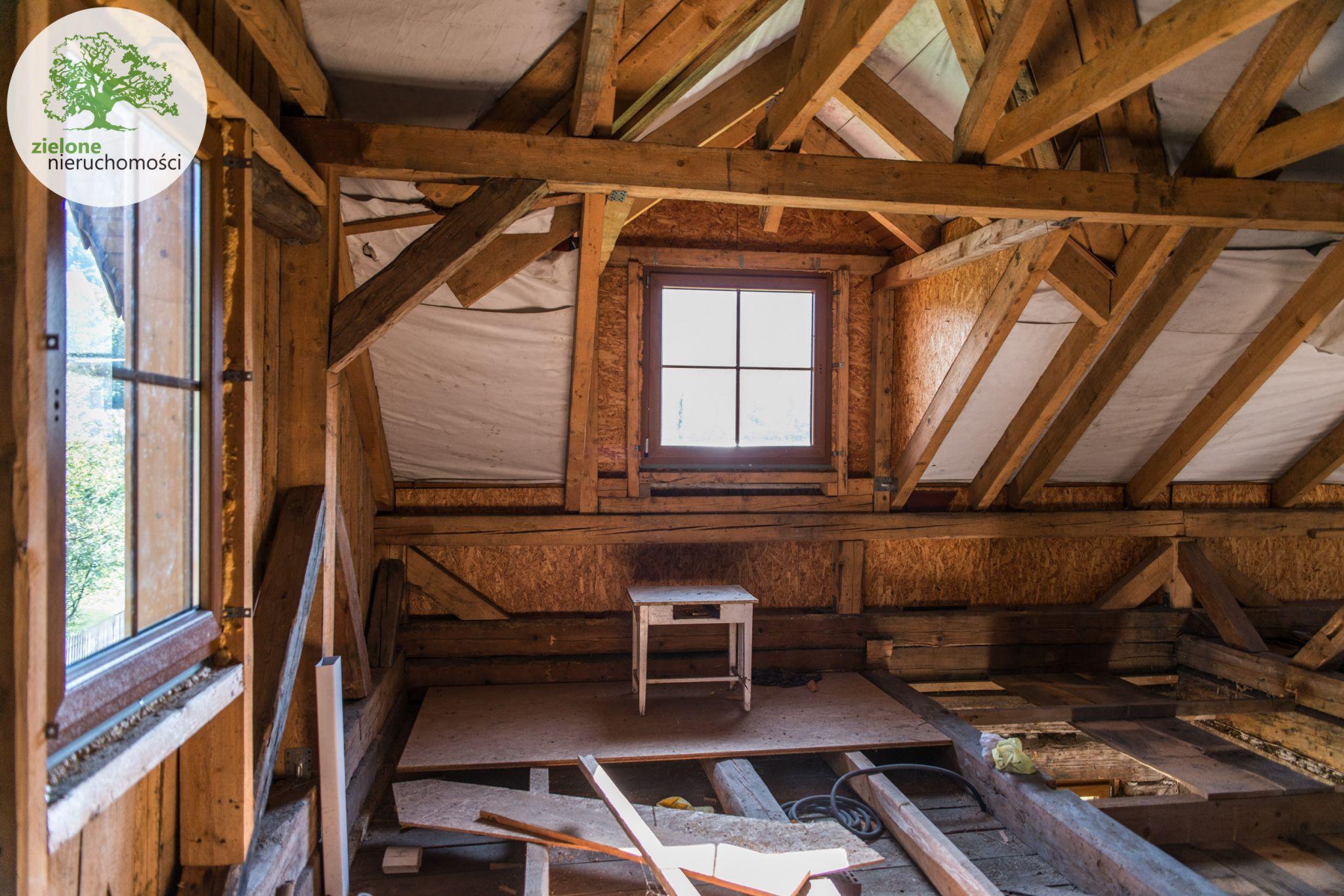 Zdjęcie 7Drewniany, klimatyczny dom na wsi