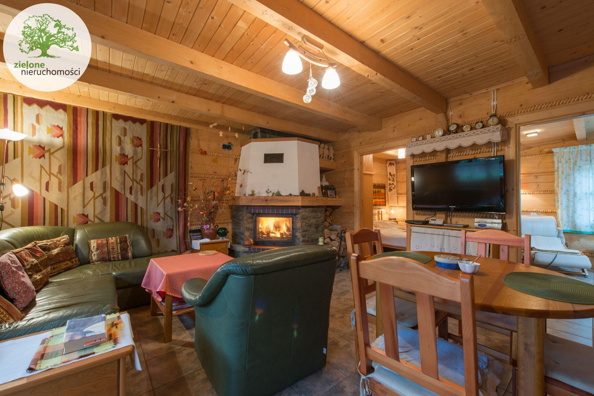 Zdjęcie 15Klimatyczny dom z bala z widokiem na Skrzyczne