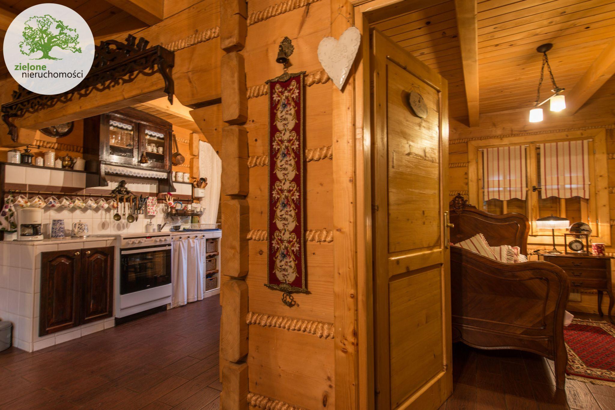 Zdjęcie 16Klimatyczny dom z bala z widokiem na Skrzyczne