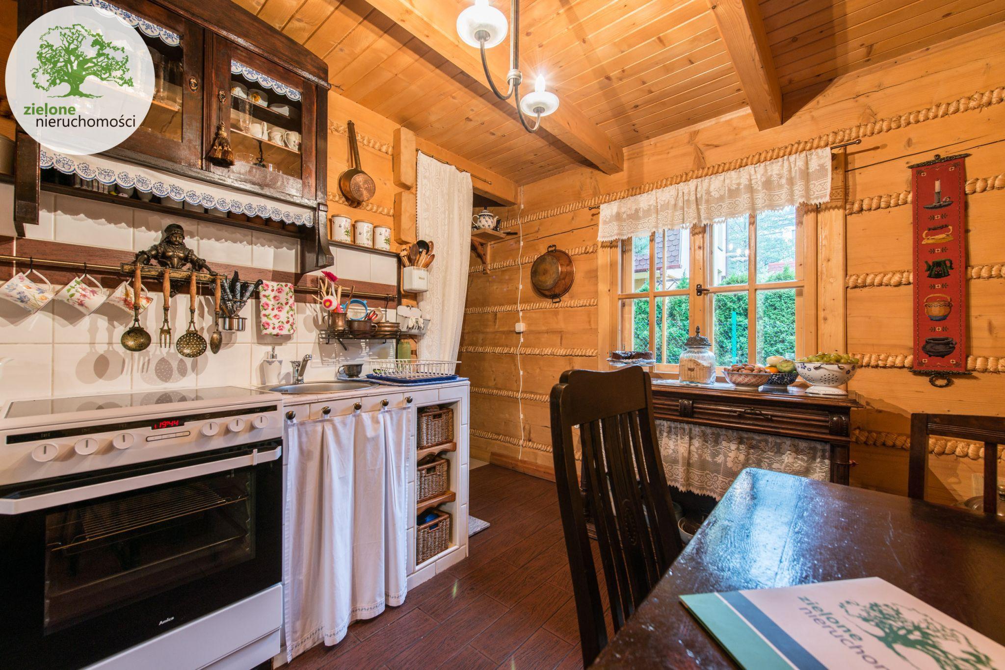 Zdjęcie 2Klimatyczny dom z bala z widokiem na Skrzyczne