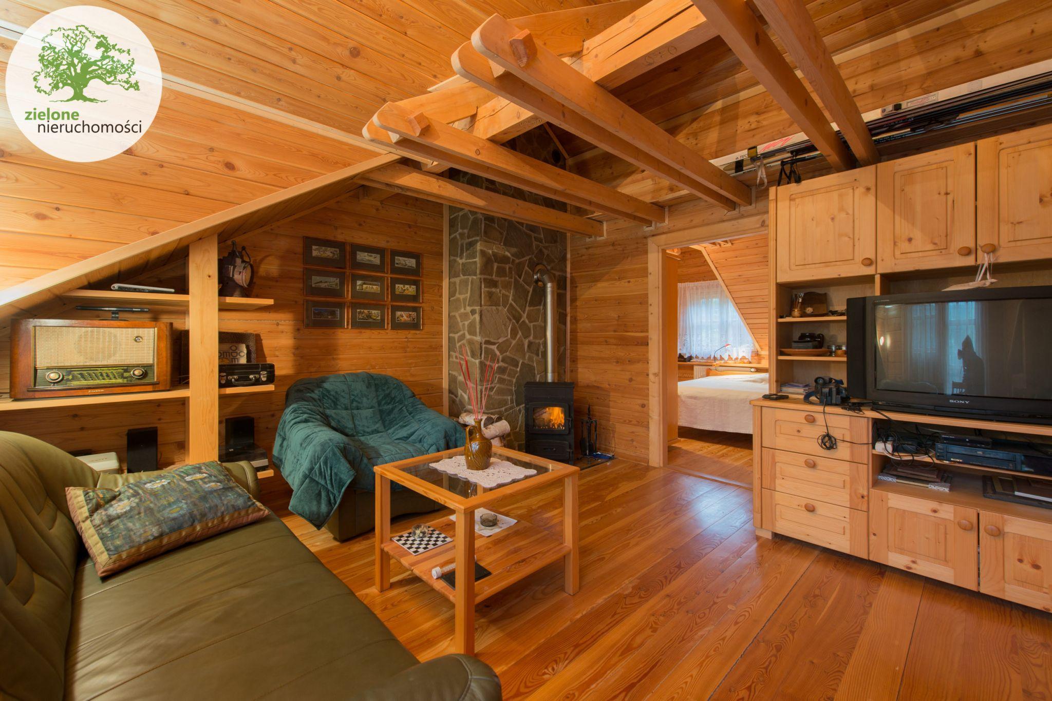 Zdjęcie 5Klimatyczny dom z bala z widokiem na Skrzyczne