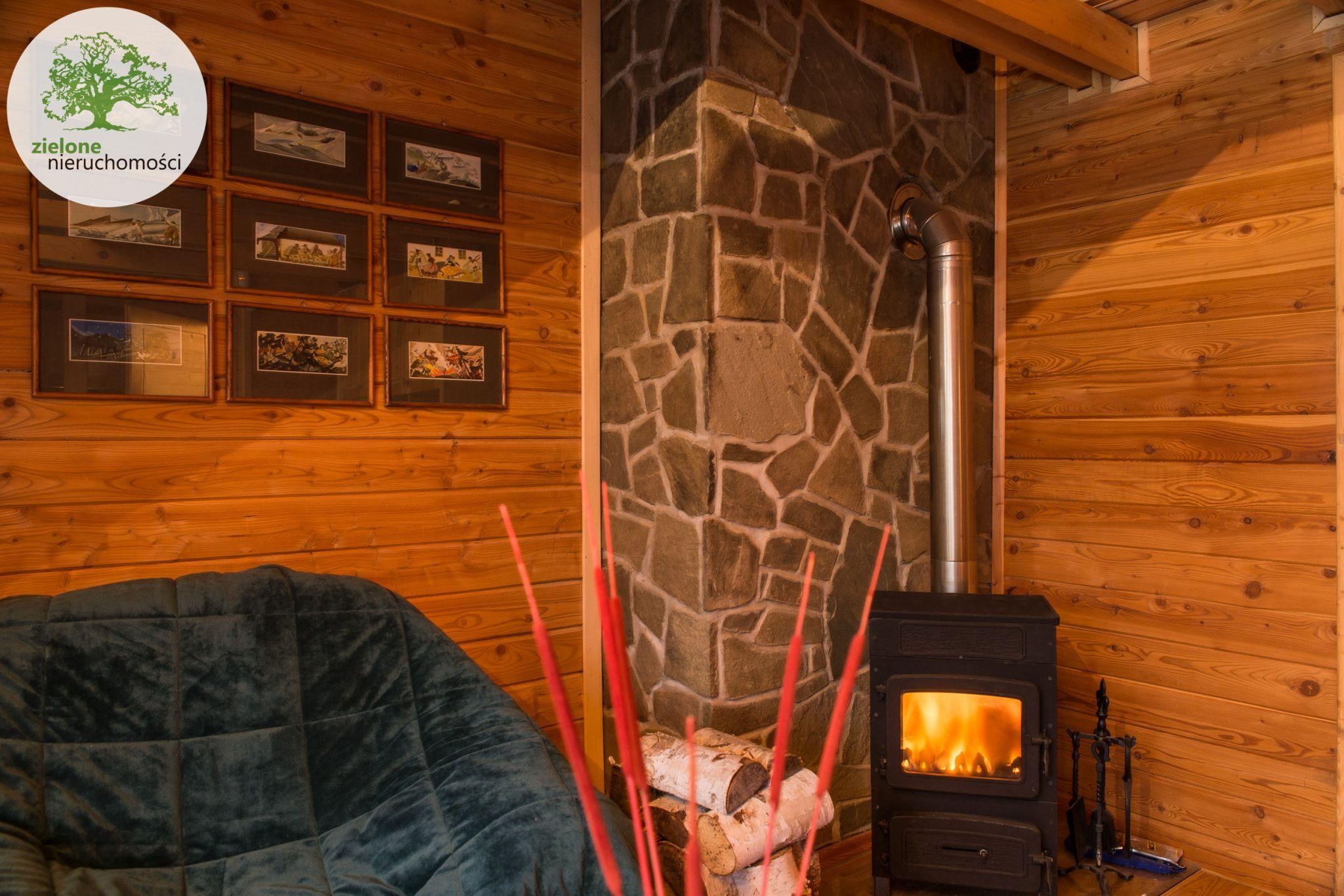 Zdjęcie 7Klimatyczny dom z bala z widokiem na Skrzyczne